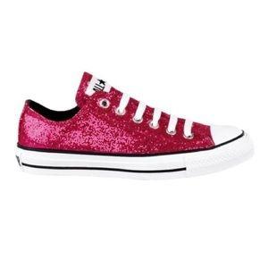 Converse Pink Sparkles